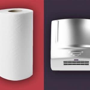 Hand Towle Vs Hand Dryer